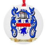 Munaretti Round Ornament