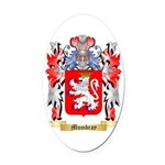 Mumbray Oval Car Magnet