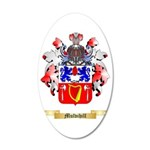 Mulvihill 35x21 Oval Wall Decal