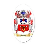 Mulvey Oval Car Magnet