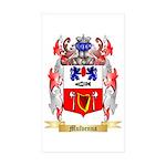 Mulvenna Sticker (Rectangle 50 pk)