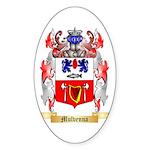 Mulvenna Sticker (Oval 50 pk)