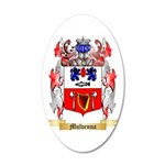 Mulvenna 20x12 Oval Wall Decal