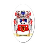 Mulvenna 35x21 Oval Wall Decal