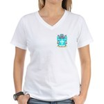 Mulock Women's V-Neck T-Shirt