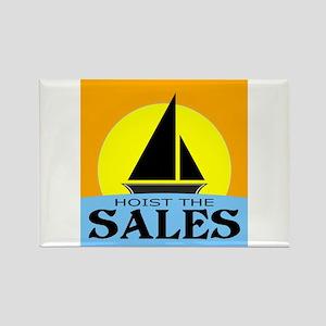 """Hoist The Sales"" Rectangle Magnet"