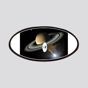 Saturn and the Cassini Probe Patch