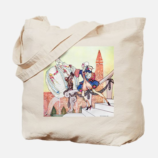 Kay Nielsen - Prince Charming and Cindere Tote Bag