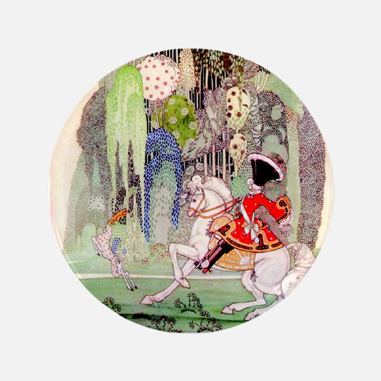 Kay Nielsen - Sleeping Beauty Prince from I Button