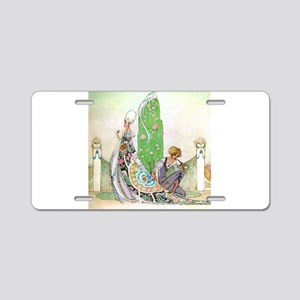 Kay Nielsen - Princess and Aluminum License Plate