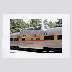 Grand Canyon Railway carriage, Arizona 4' x 6' Rug