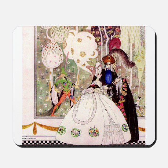 Kay Nielsen -Bluebeard and his Bride Mousepad