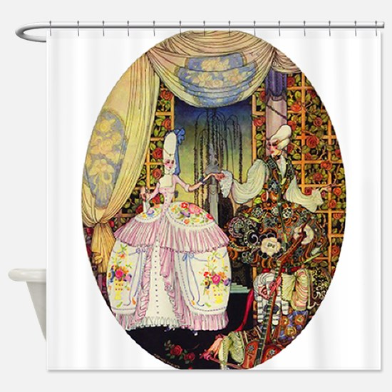 Kay Nielsen - French Lord and Lady Shower Curtain