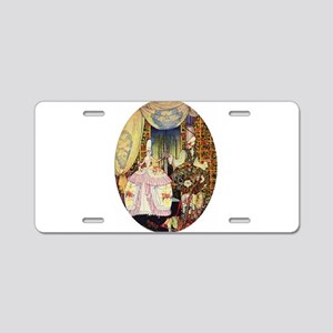 Kay Nielsen - French Lord a Aluminum License Plate