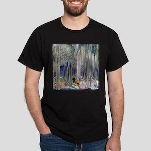 Kay Nielsen - Twelve Dancing Princess Dark T-Shirt