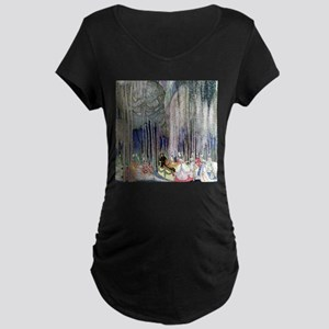 Kay Nielsen - Twelve Dancin Maternity Dark T-Shirt