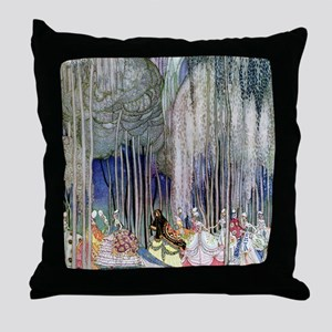 Kay Nielsen - Twelve Dancing Princess Throw Pillow