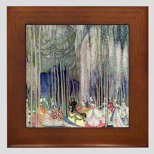 Kay Nielsen - Twelve Dancing Princesse Framed Tile