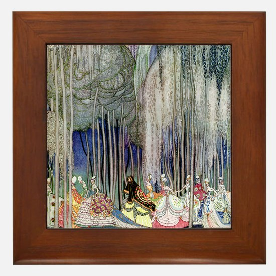 Kay Nielsen - Twelve Dancing Princesse Framed Tile