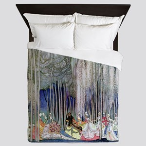 Kay Nielsen - Twelve Dancing Princesse Queen Duvet