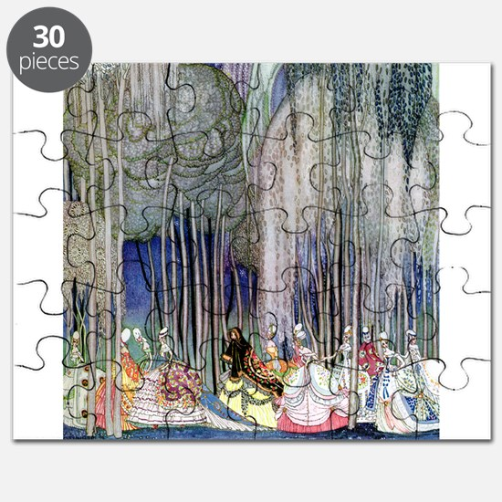 Kay Nielsen - Twelve Dancing Princesses Puzzle