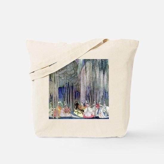 Kay Nielsen - Twelve Dancing Princesses Tote Bag