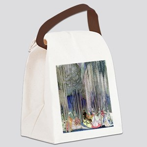 Kay Nielsen - Twelve Dancing Prin Canvas Lunch Bag