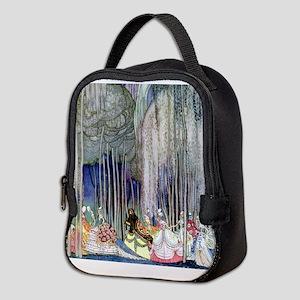 Kay Nielsen - Twelve Dancing Pr Neoprene Lunch Bag