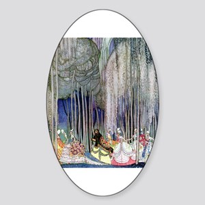 Kay Nielsen - Twelve Dancing Prince Sticker (Oval)