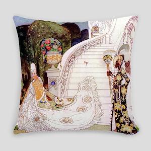 Kay Nielsen - Cinderella Runs Down Everyday Pillow