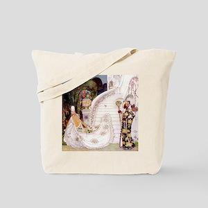 Kay Nielsen - Cinderella Runs Down the Pa Tote Bag