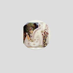 Kay Nielsen - Cinderella Runs Down the Mini Button