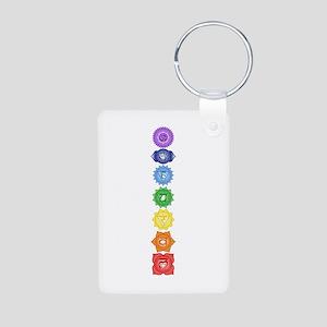 Chakra Symbols Keychains