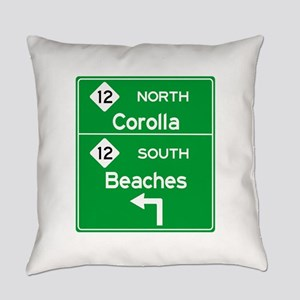 Outer Banks Route 12 Sign Everyday Pillow
