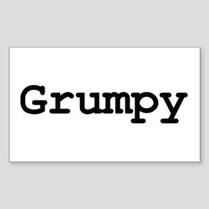 grumpy Sticker