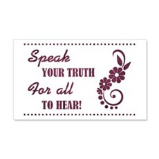 SPEAK YOUR TRUTH Wall Decal