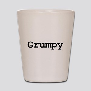 grumpy Shot Glass