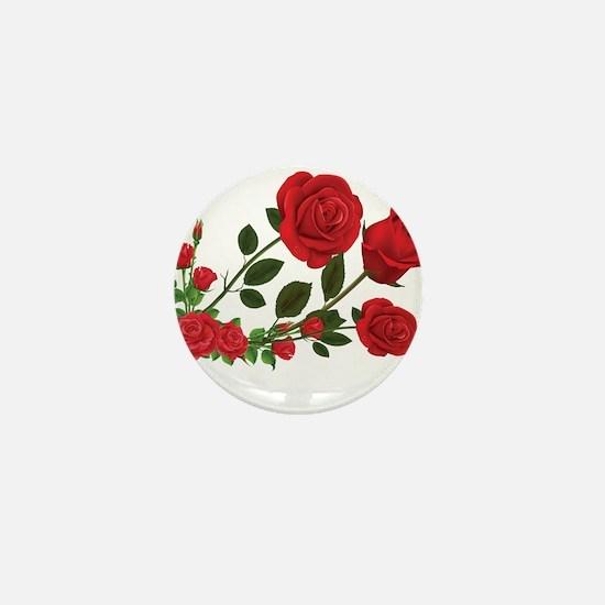 Roses Mini Button