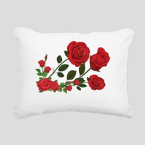Roses Rectangular Canvas Pillow