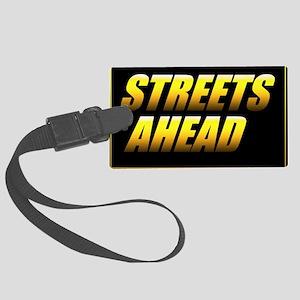 Streets Ahead Luggage Tag