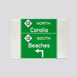 Outer Banks Route 12 Sign Magnets