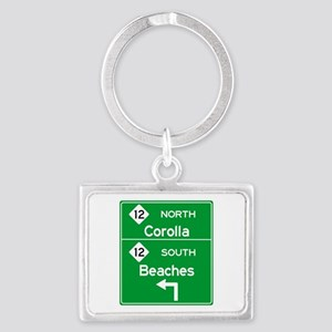 Outer Banks Route 12 Sign Keychains