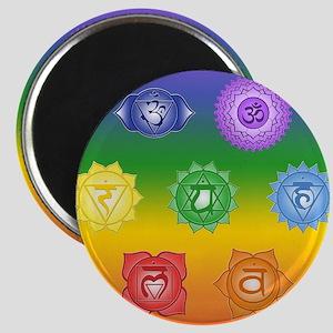 Chakra Symbols Magnets