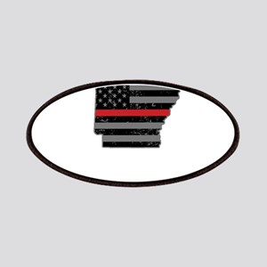 Arkansas Firefighter Thin Red Line Patch