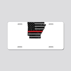 Arkansas Firefighter Thin R Aluminum License Plate