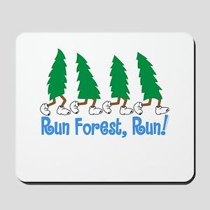 Run Forest Run Mousepad