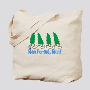 Run Forest Run Tote Bag