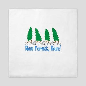 Run Forest Run Queen Duvet