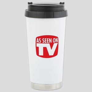 As Seen On TV Stainless Steel Travel Mug