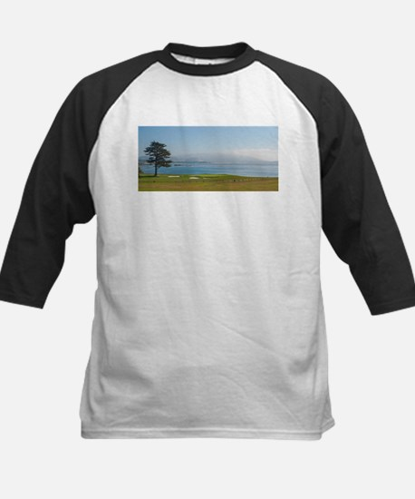 18th Green Pebble Beach Baseball Jersey